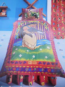 New Disney Princess Bedding Set Pocahontas Ultra Rare