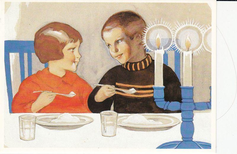 Rudolf Koivu - Lapset ruokailemassa