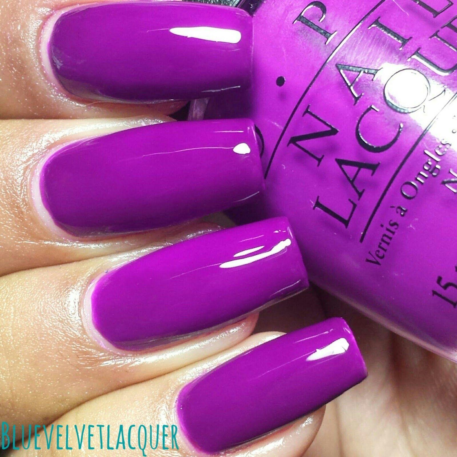 Blue Velvet Lacquer: OPI Neon Collection For Summer 2014