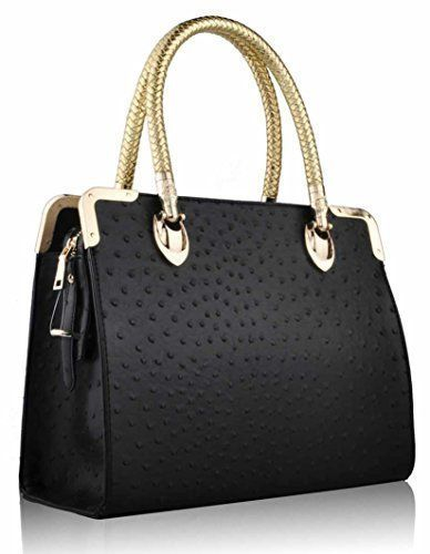 237c4d8d331b Womens Designer Bags Celebrity Ostrich Doctors Style Stylish Tote Handbags  Fashion Only http://