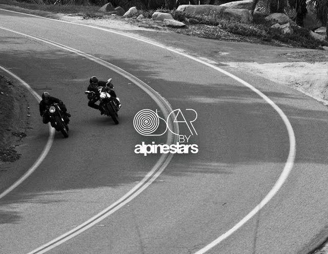 Go go go! Oscar by Alpinestars. Mira estas fotos y no lo pienses más, coge tu moto y vete a rodar #motorcycles #caferacer #bobber   caferacerpasion.com