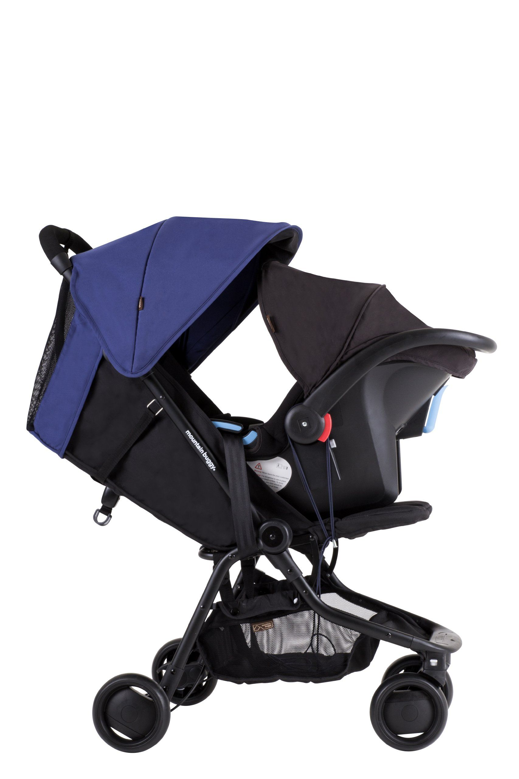 Mountain Buggy Nano Stroller, Black Baby