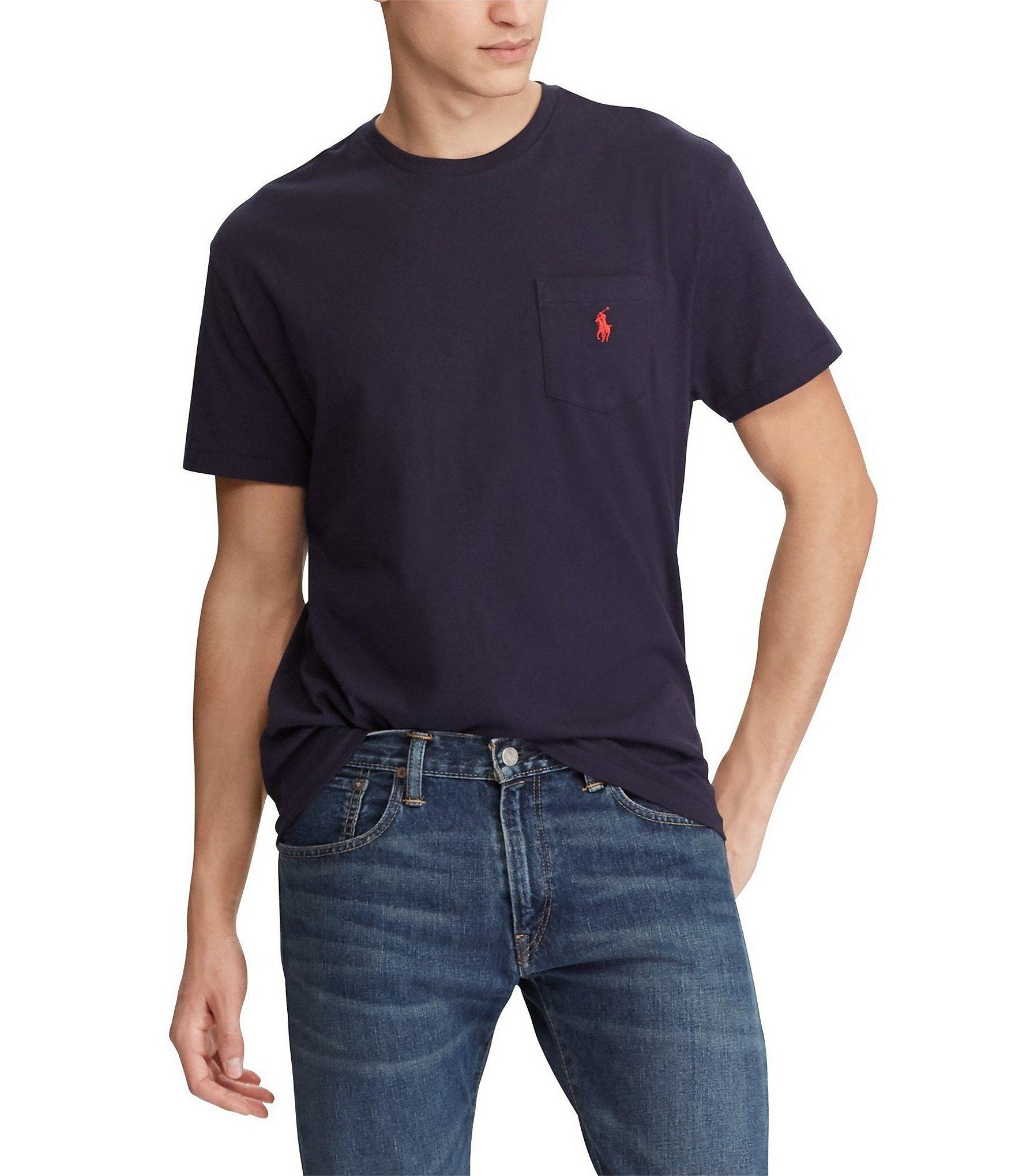 Polo Ralph Lauren Classic Fit Jersey Crewneck Short Sleeve Tee