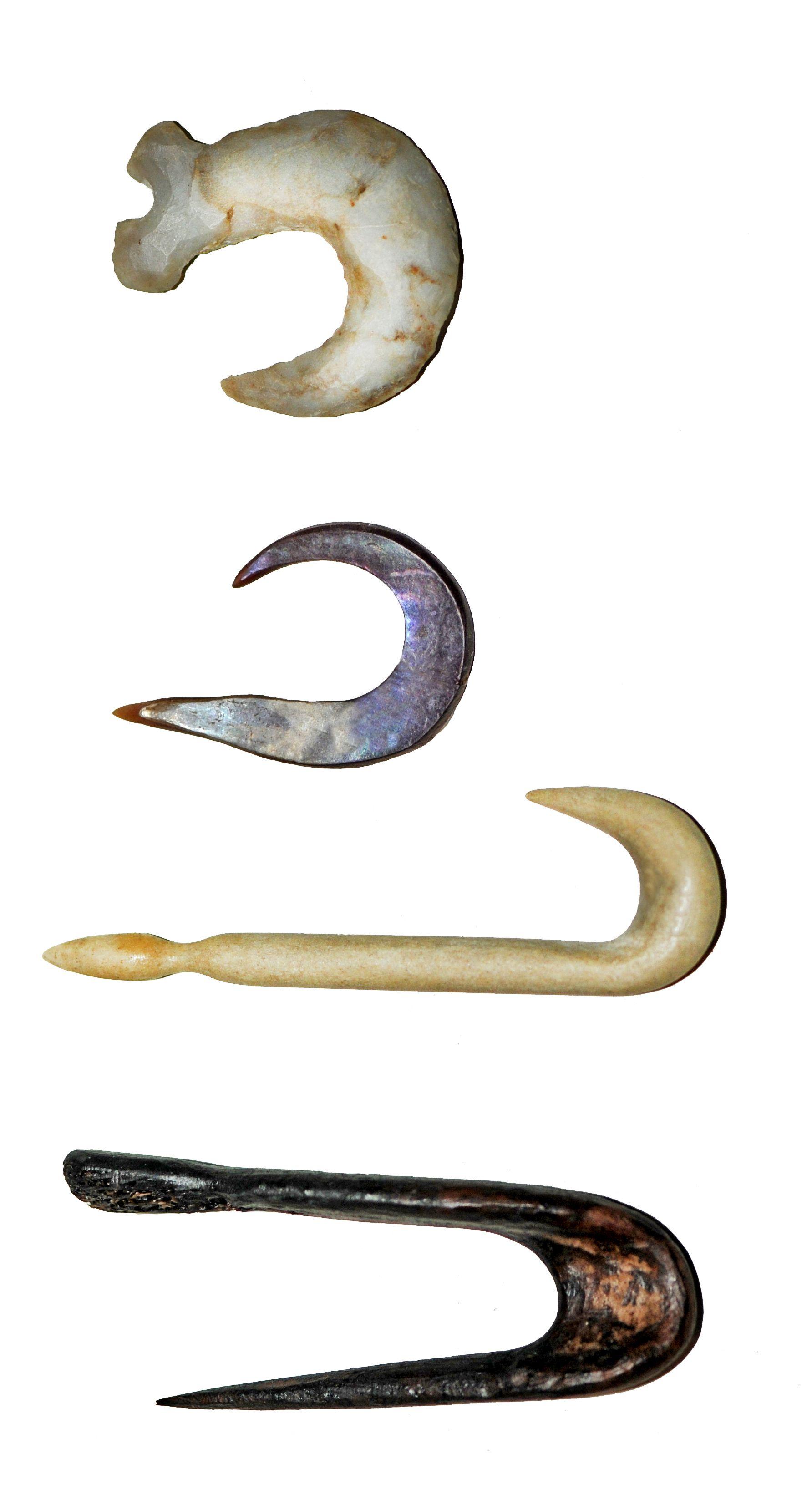 Ancient Fishing Hooks