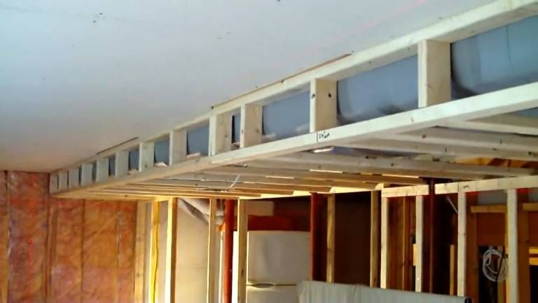 Box Around Ductwork And Obstruction Soffit Framing