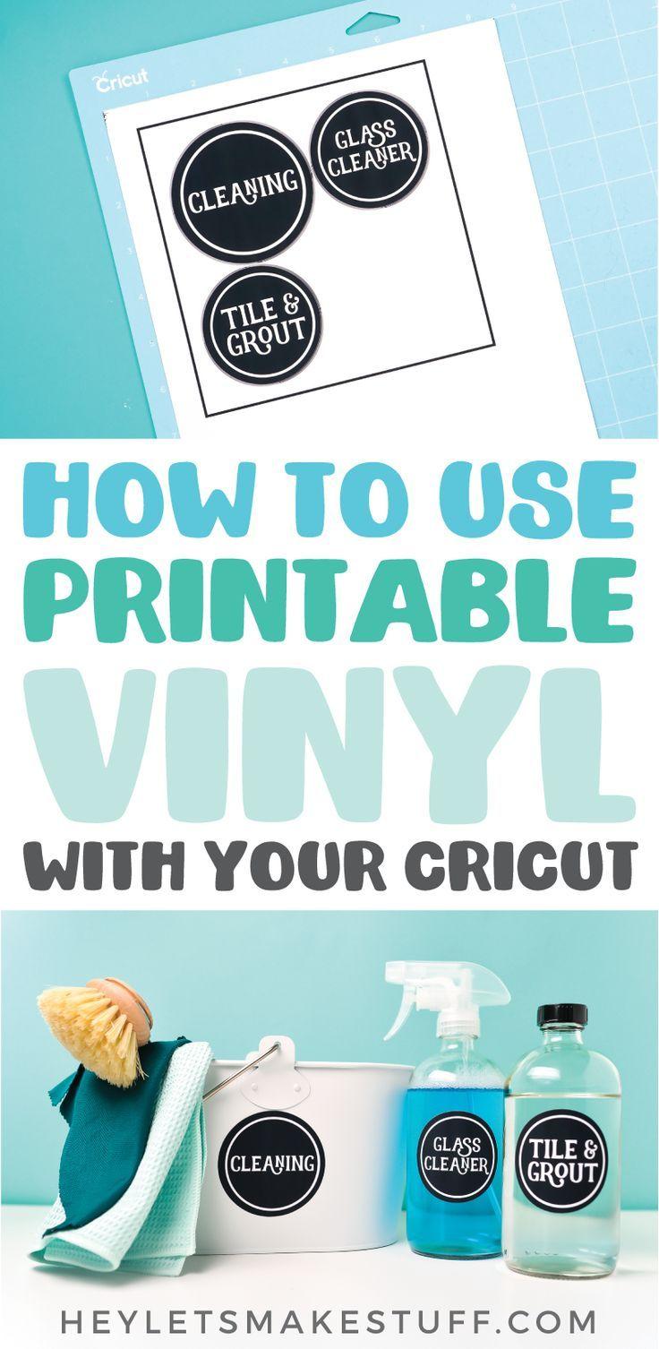 How to use printable vinyl in 2020 printable vinyl