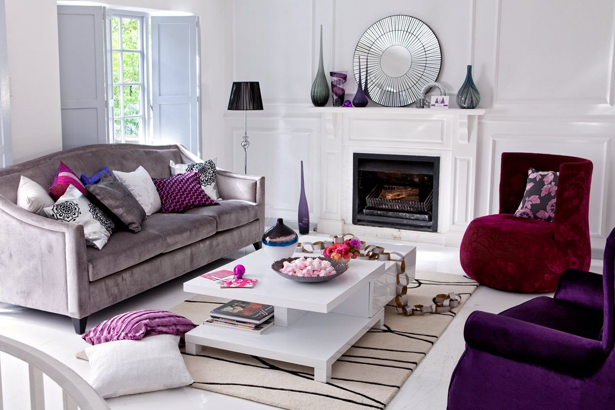 Living Room Color Schemes Gray Purple Color Scheme Living Room Yes Yes Go