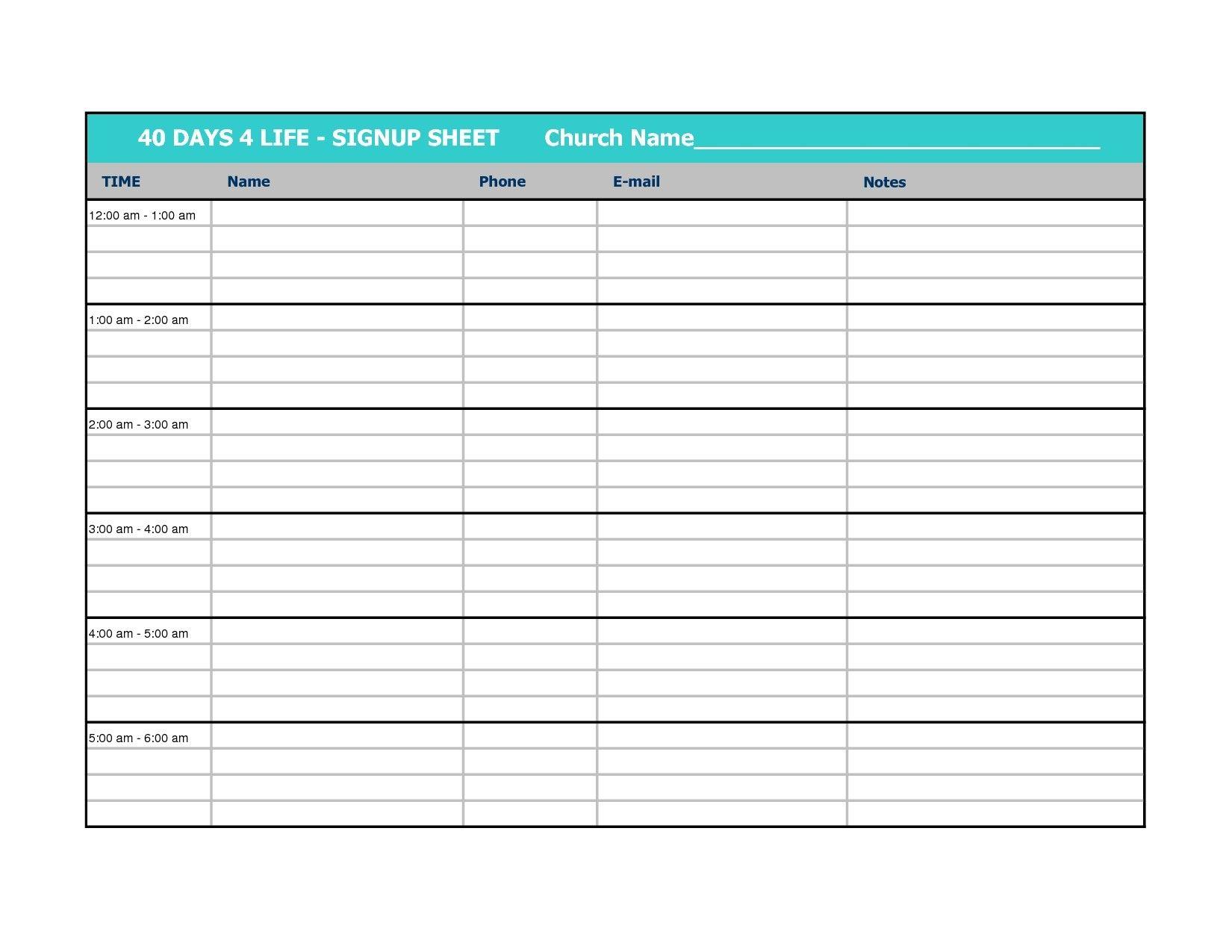 New Sign Up Calendar Template Exceltemplate Xls Xlstemplate Xlsformat Excelformat Microsoftexce Sign In Sheet Template Sign In Sheet Online Sign Up Sheet
