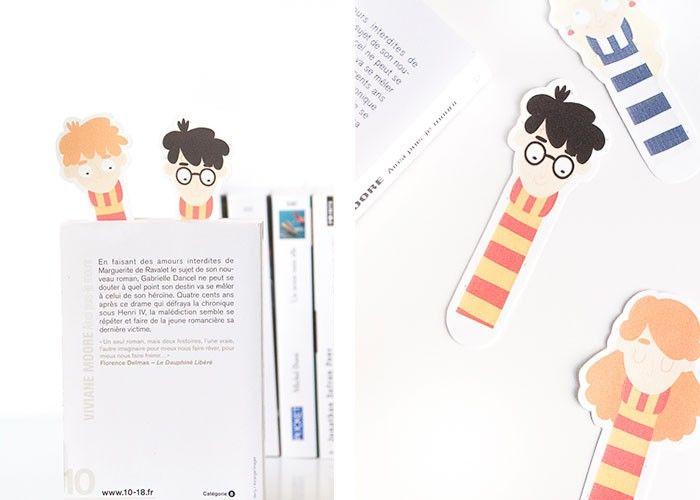 Diy Marques Page Harry Potter A Imprimer Marque Page Marque