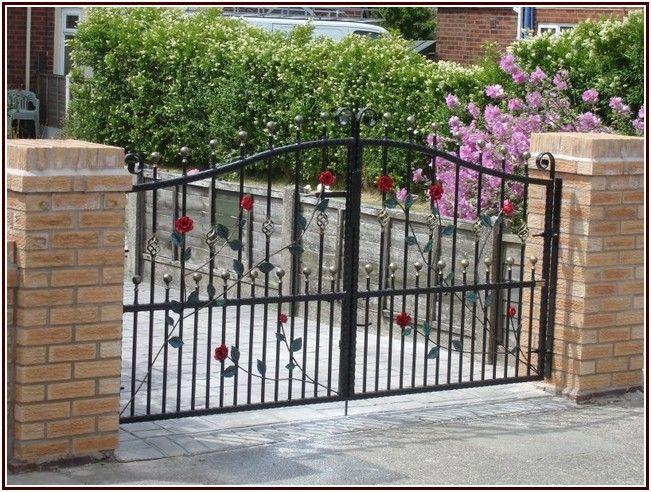 Striking Wrought Iron Gates Iron Gate Design Wrought Iron Gate Designs Gate Design