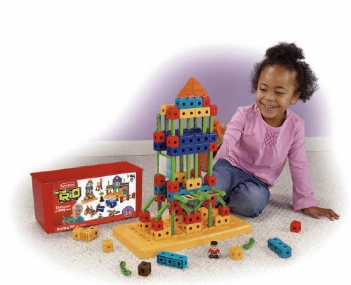 FisherPrice TRIO Building Set with storage ** Details can be found by clicking on the image.