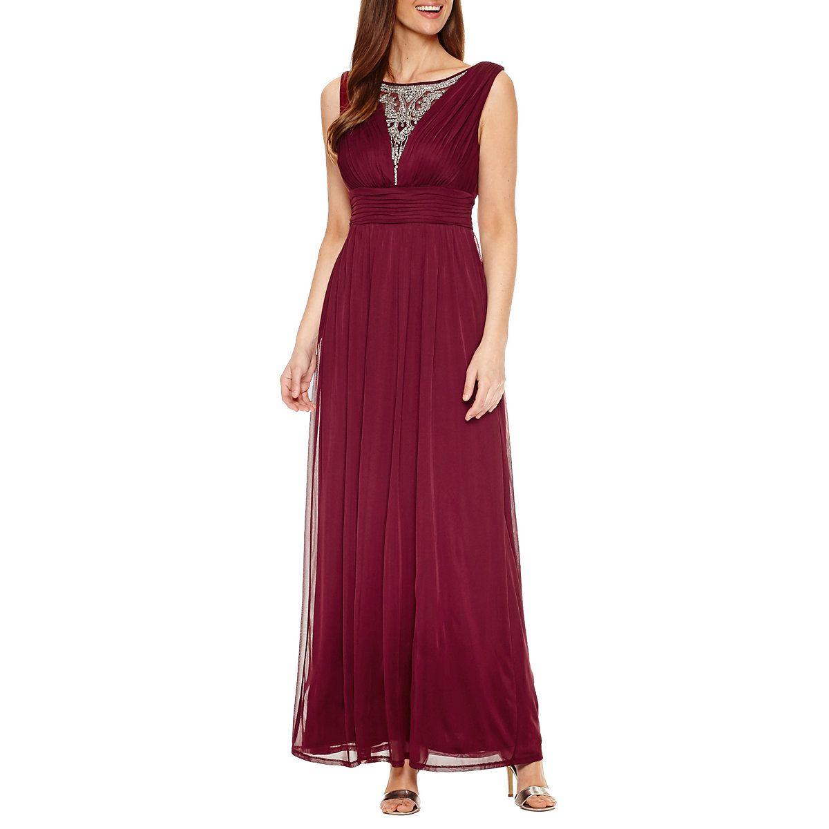 Melrose Sleeveless Evening Gown - JCPenney   JCP   Pinterest   Gowns ...