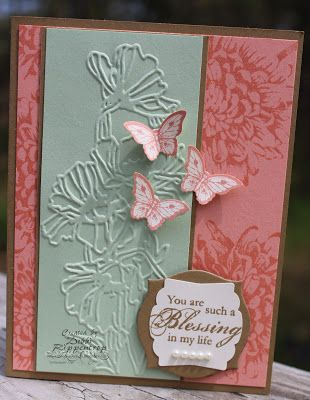 Blooming Kindness, Flower Garden Folder, Apothecary Accents Framelit, Artisan Label Punch, Small butterfly punch -   Debbis Design Stamping: Pastel Spring