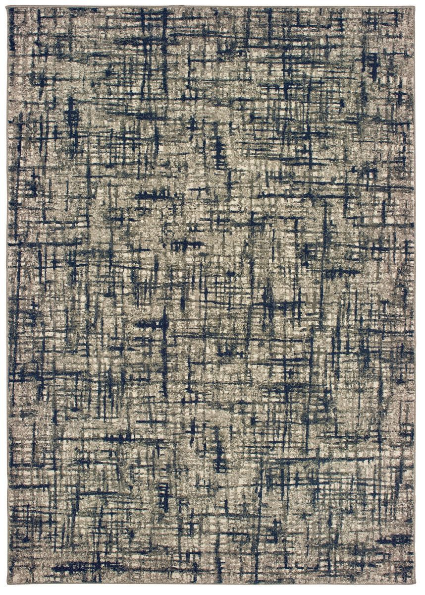 Oriental Weavers Richmond 802k3 Grey Navy Area Rug Rugs On Carpet Textured Carpet Modern Carpets Design