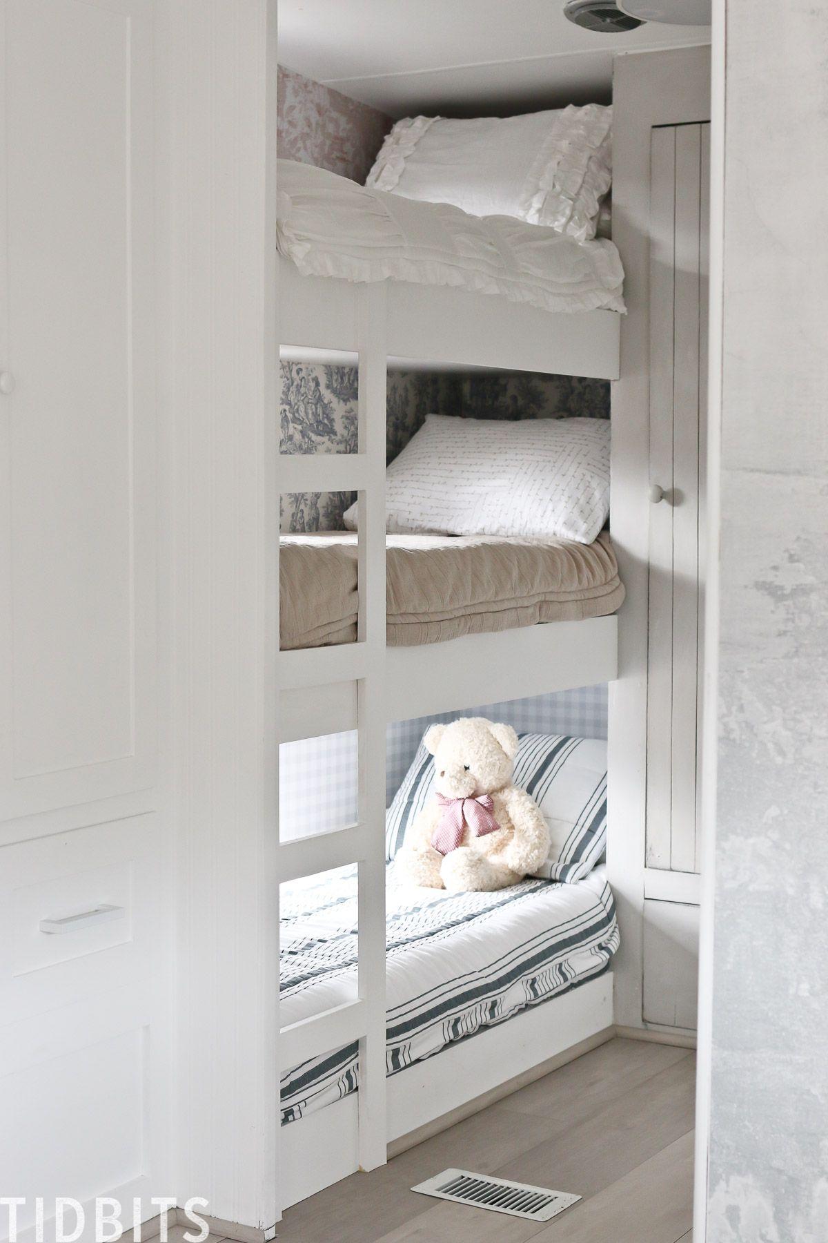 The Best Rv Bunk Bedding Kast Maken Interieur En Kast
