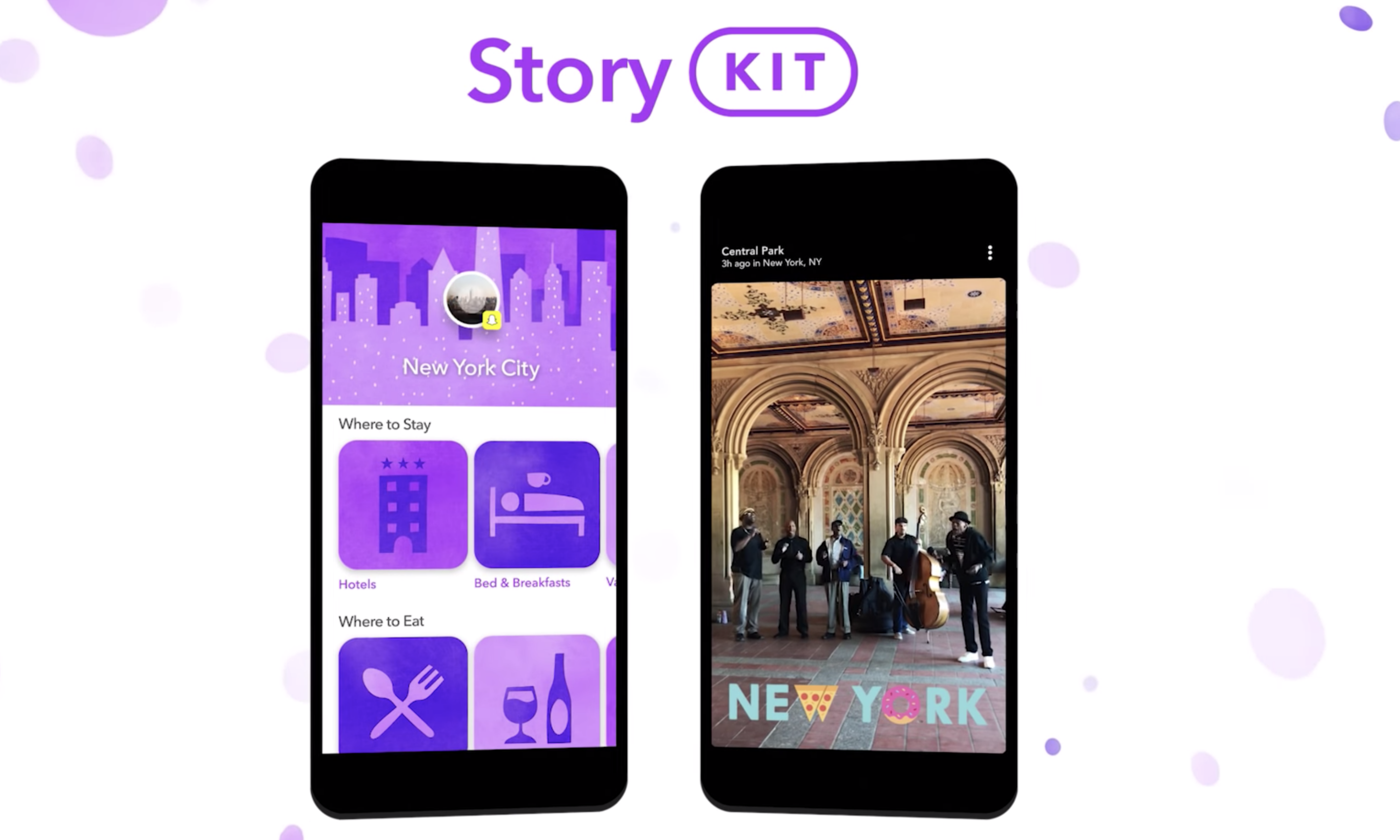 Snap App Stories now available on third party apps