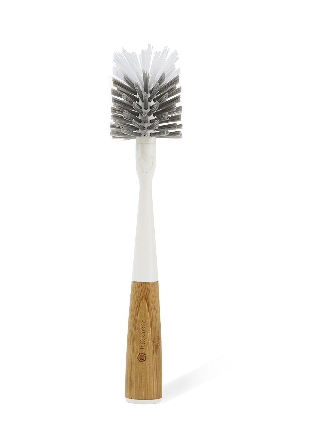 Full circle clean reach bottle brush with
