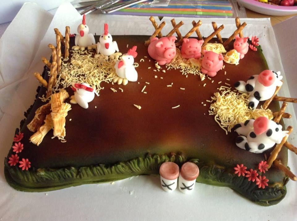 Maatila kakku - Triinun maatila kakku tarjoaa kävijöille kiinnostavan vierailukohteen, hyvän esimerkin toimivasta maatilasta sekä mahdollisuuden tutustua kotieläimiin. :-D