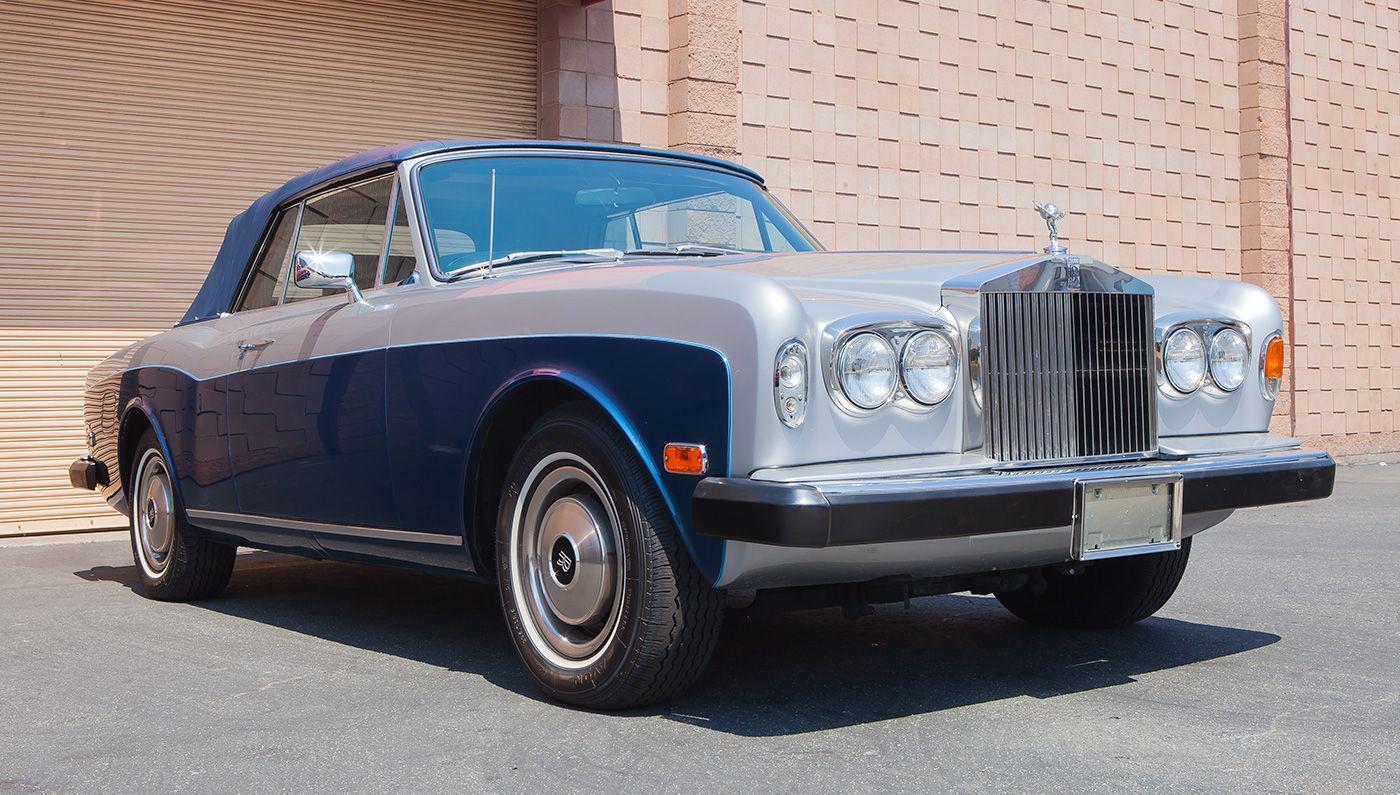 1977 Rolls-Royce Corniche Convertible1 Reggie Jackson's Three Favorite Cars from His Collection | Automobiles