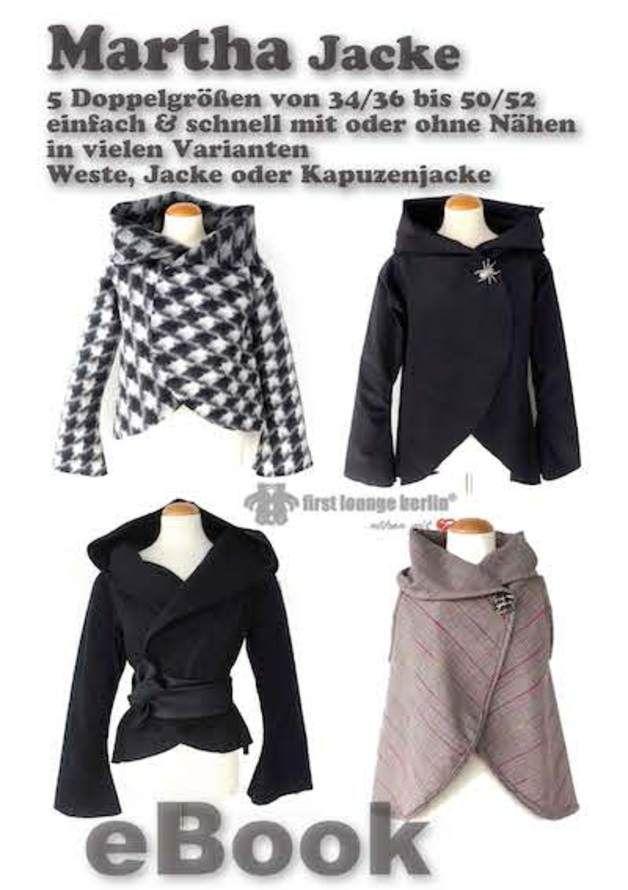 E-Book Nähanleitung Bildernähanleitung für Martha Jacke ...