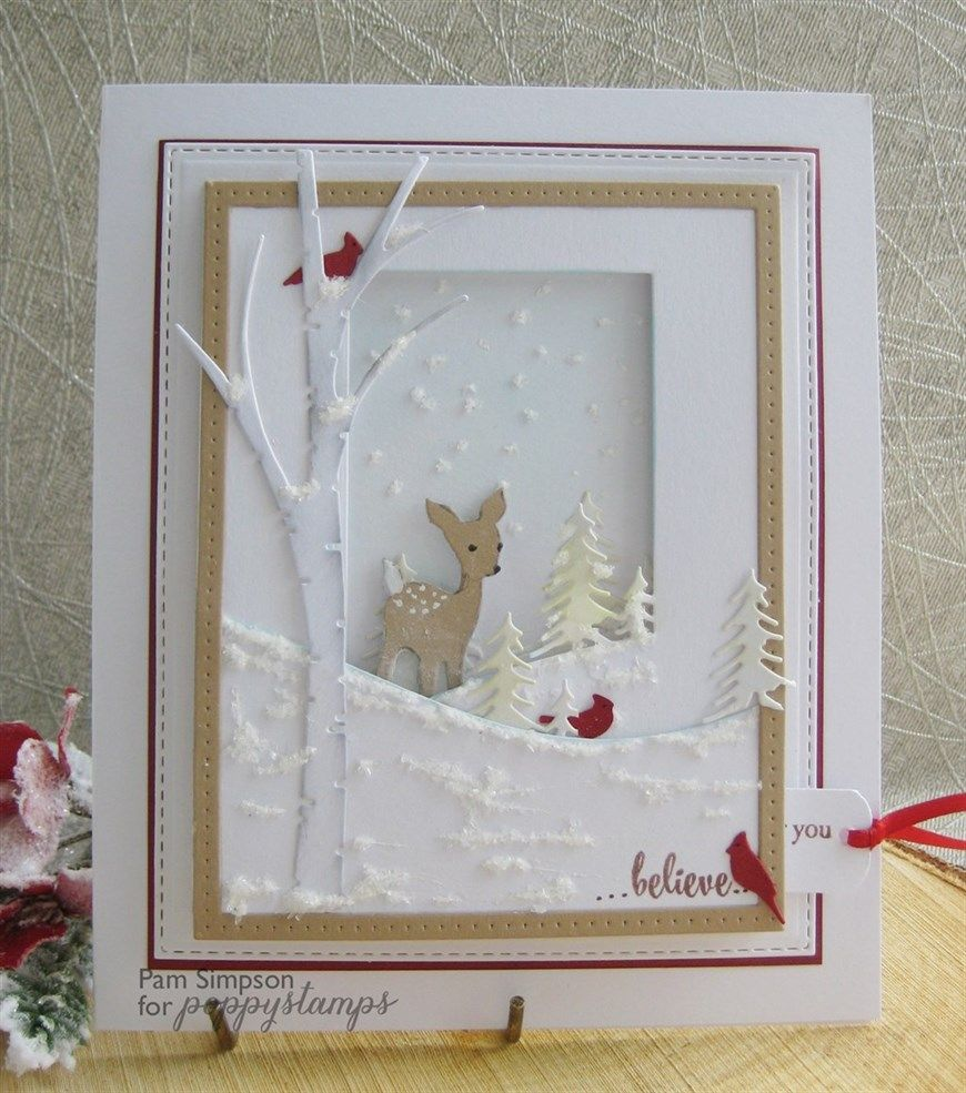 Pams crafts | docrafts.| Christmas cards handmade, Diy