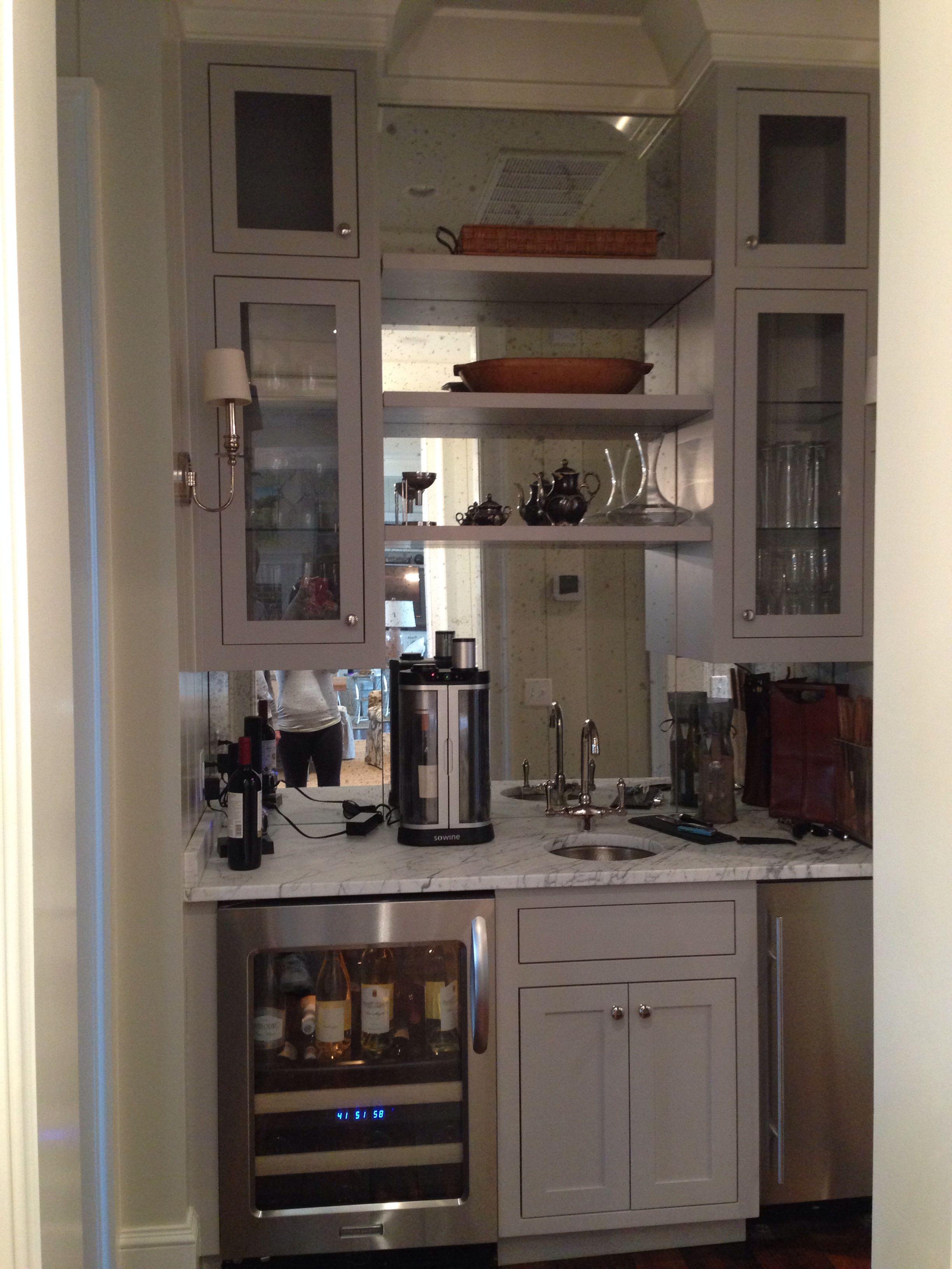 Built in bar   Kitchen remodel, Built in bar, Residential ...