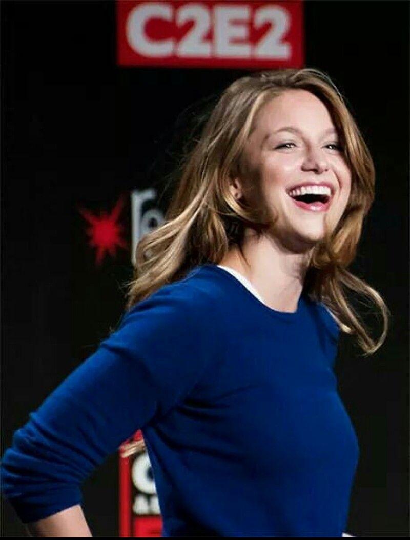 Happy Melissa Supergarota Atrizes Supergirl
