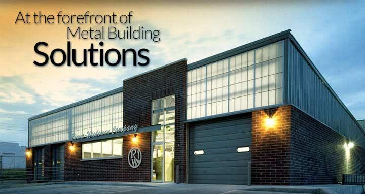 Steel buildings metal buildings prefabricated pre for Metal building office plans