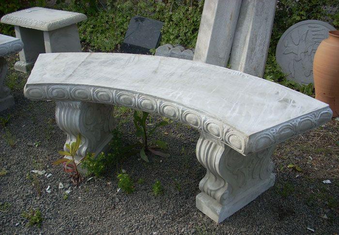 cement garden benches google search
