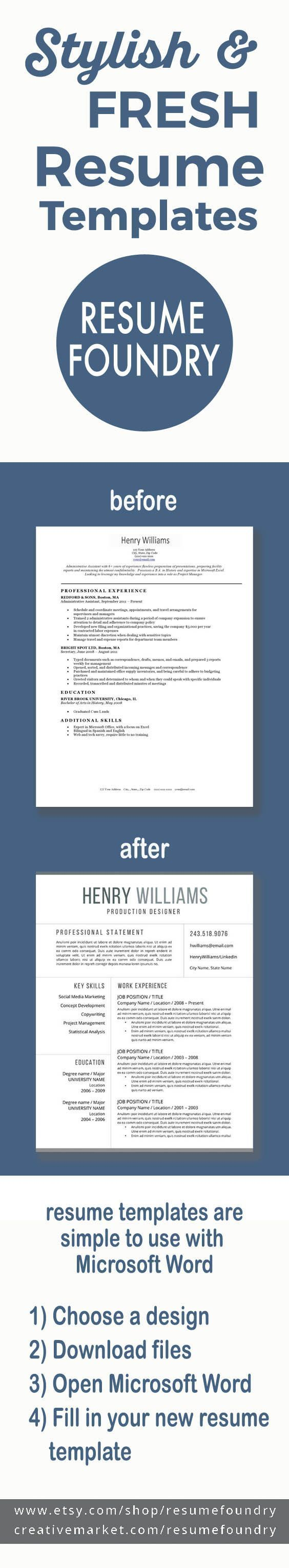 Copy And Paste Cover Letter Resume Template 13 Page Resume  Cover Letter  Reference Page .