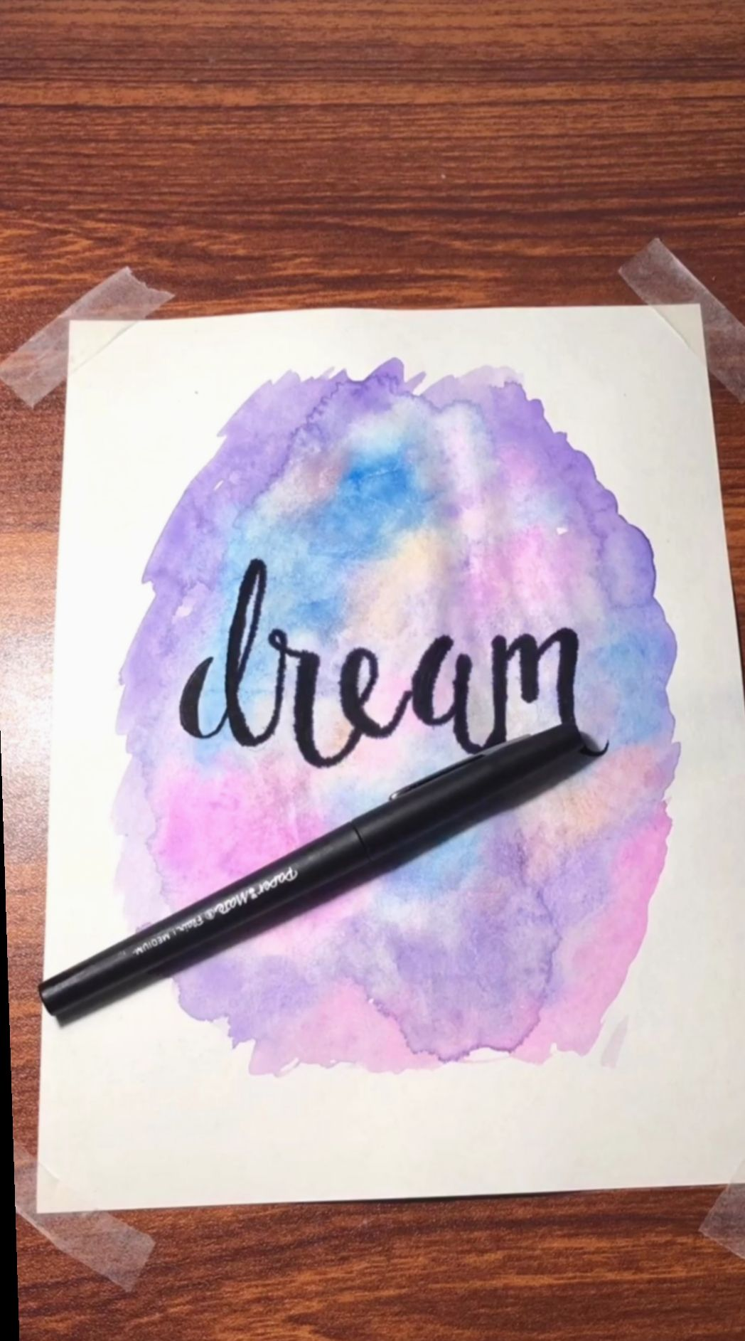 Drawing Hand Video Tumblr Art Artlover Artist Watercolor