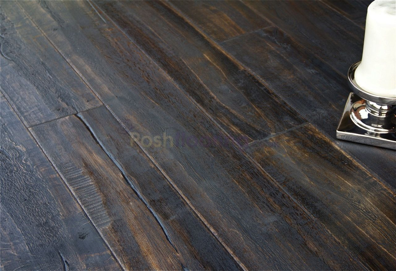 Dark Distressed Hardwood Floor Google