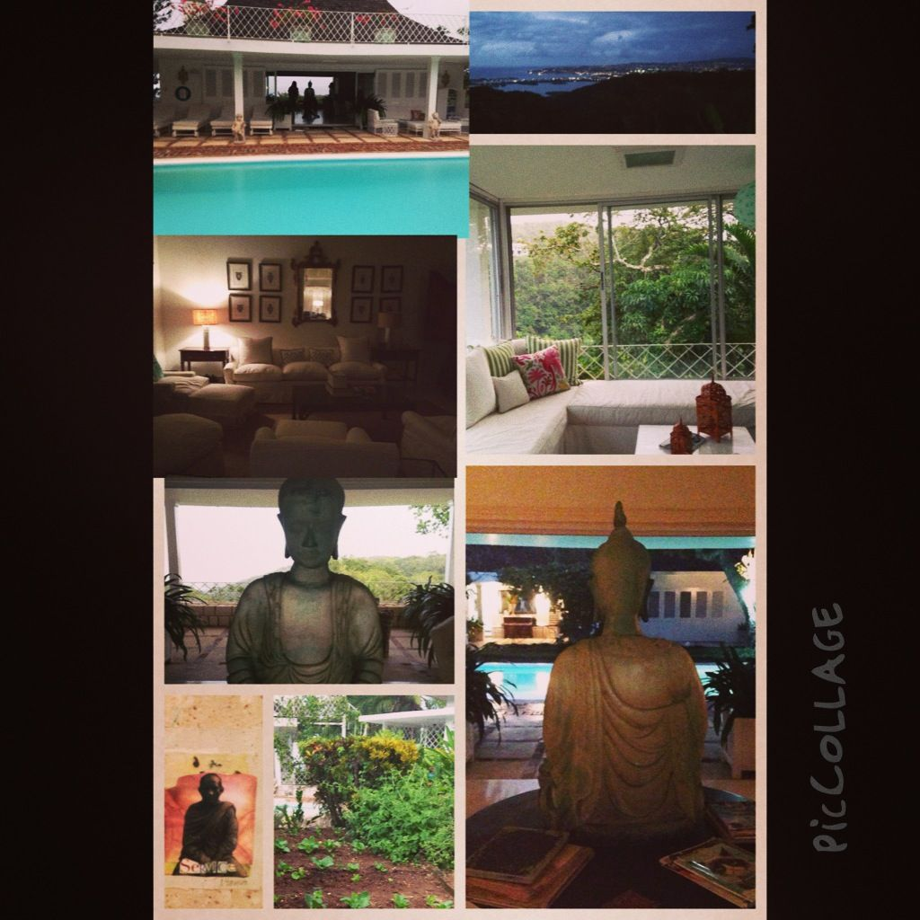 The Beautiful Highland House- home of The Caribbean Cleanse. Montego Bay, Jamaica