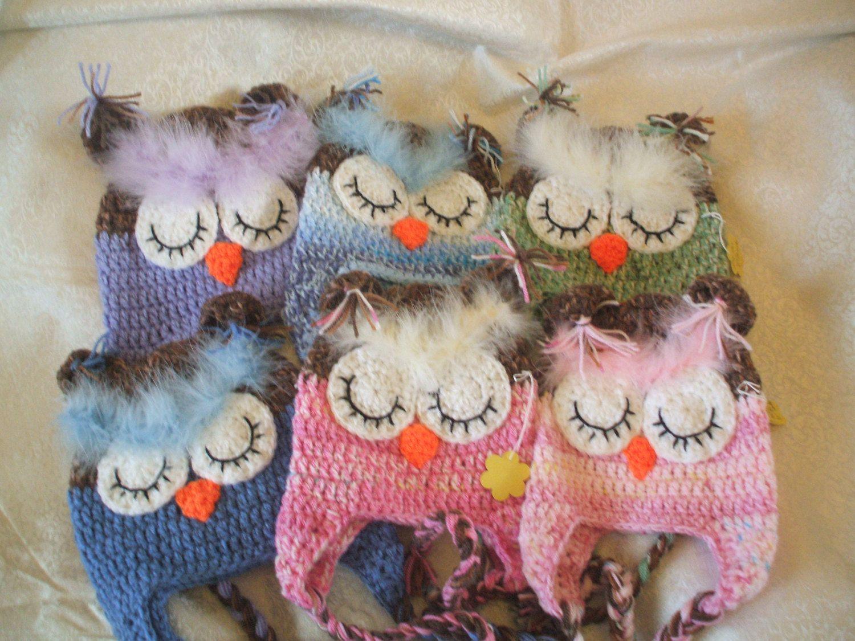 OwlsOwlsOwls pdf pattern crochet   0-10yrs