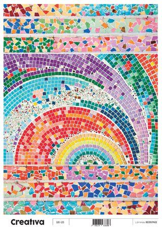 Laminas para decoupage Creativa texturas y fondos 116-115  30 x 21 cm