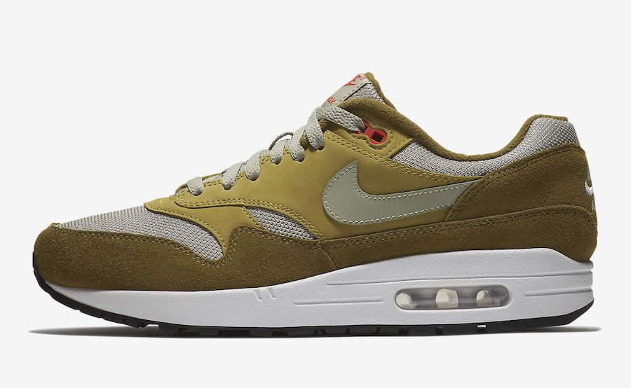 atmos Nike Air Max 1 Green Curry 908366 300 | NiKE Air max