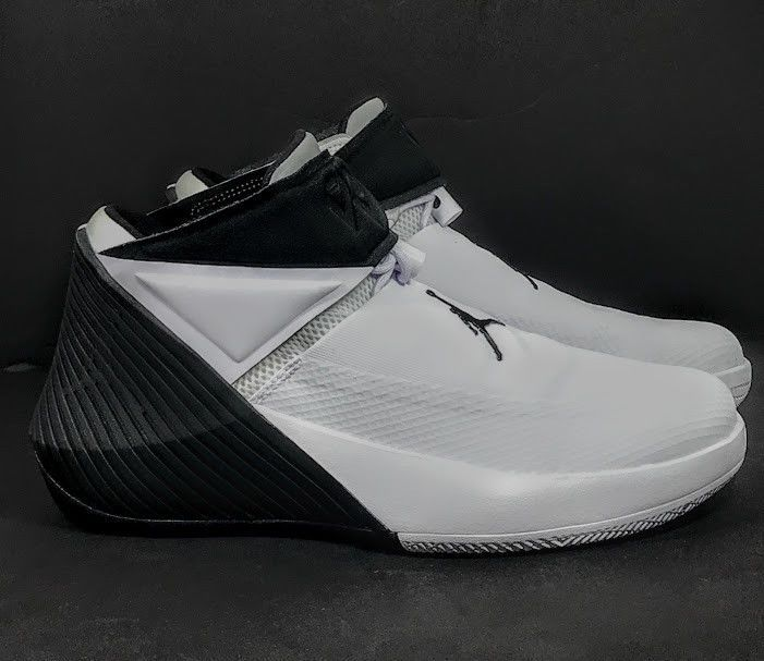 best service 720f6 8ca5f JORDAN Russell Westbrook WHY NOT ZERO.1 White Black Oreo AA2510 110 Mens  8.5   eBay