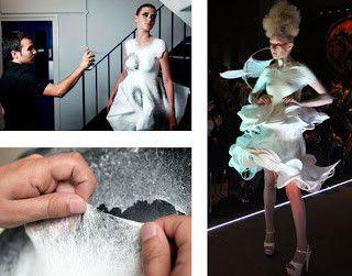 O projeto em si, parte devido ao processo de construção do vestuário dito 'normal' ser muito lento, assim, este investiga novas formas de acelerar o processo.