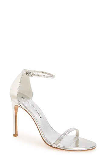 Stuart Weitzman Stuart Weitzman Nudistsong Ankle Strap Sandal (Women) available at #Nordstrom