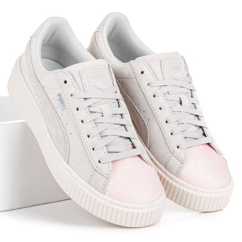 new product 98216 c1422 Puma Suede Platform Glam Jr in 2019 | shoes | Schuhe