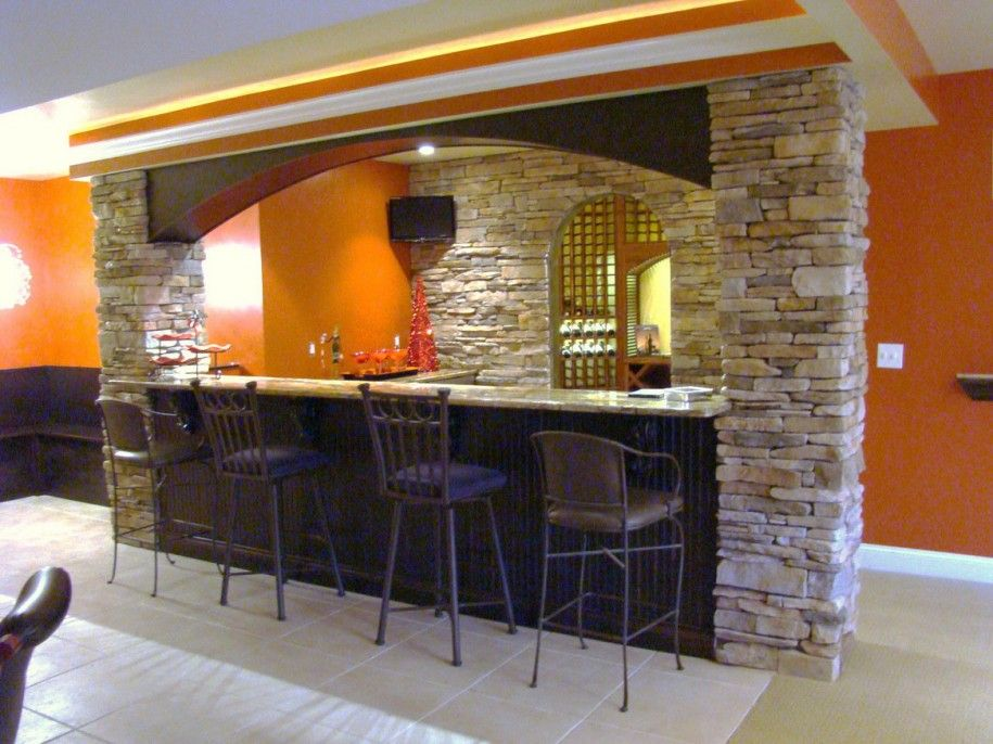 bar countertop images | Stone Wall Marble Bar Cabinet Countertop ...
