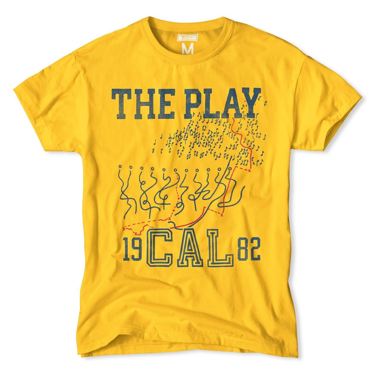 """California """"The Play"""" 1982 TShirt Mens outfitters"""