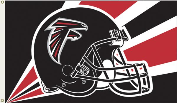 Nfl Atlanta Falcons 3 Ft X 5 Ft Flag W Grommetts2 Atlanta Falcons Helmet Atlanta Falcons Football Helmets