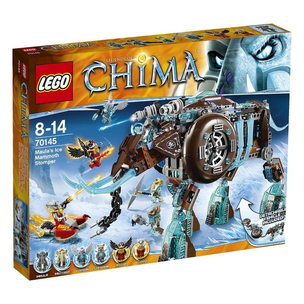 FS Brand New LEGO Legends of Chima Maula's Ice Mammoth