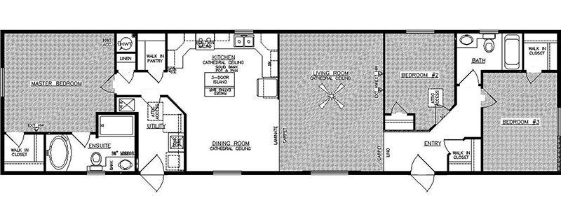 Pin by Nyx Hunter on Floor plans Modular homes, Home