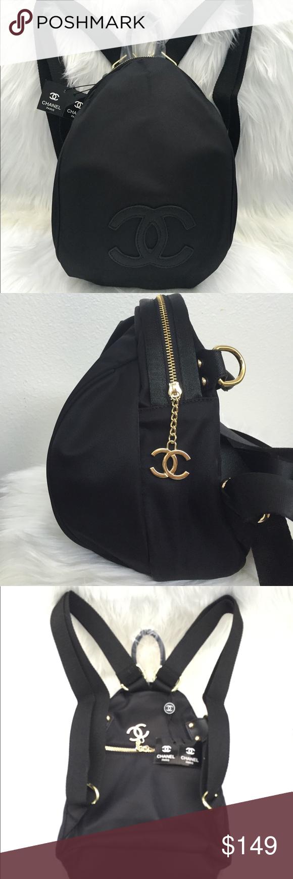aba5e2366b7e New 2017 Chanel VIP gift backpack cross body bag New Authentic 2017 Chanel  VIP Gift backpack