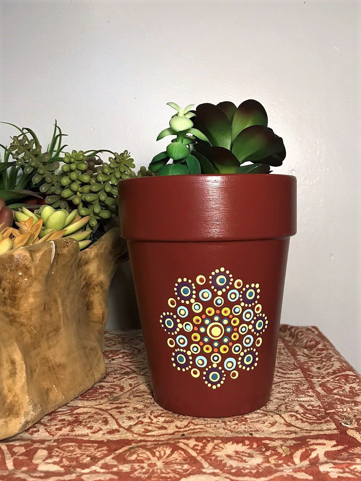 Excited To Share The Latest Addition To My Etsy Shop Macrame Plant Hanger Https Etsy Me 2eokhob Plan Flower Pots Painted Flower Pots Decorated Flower Pots