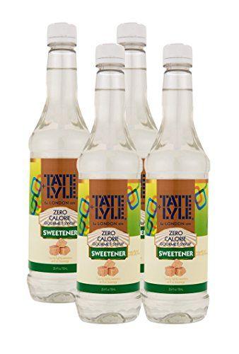 Pack of 4) Tate Lyle Sugar Free Zero Calorie Classic Simple