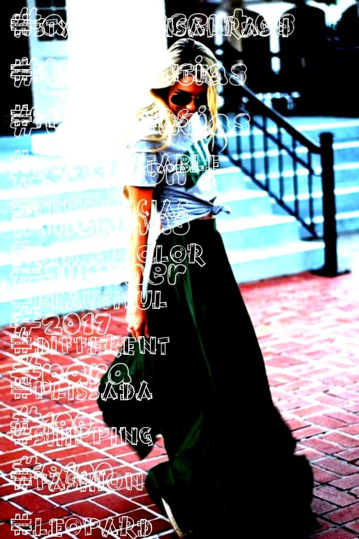 Summer Fashion 2017 Tendências para meninas e adolescentes 100  Summer Fashion 2017 Tendências para meninas e adolescentes Trendy Skirt Pleated Maxi Outfit Id...