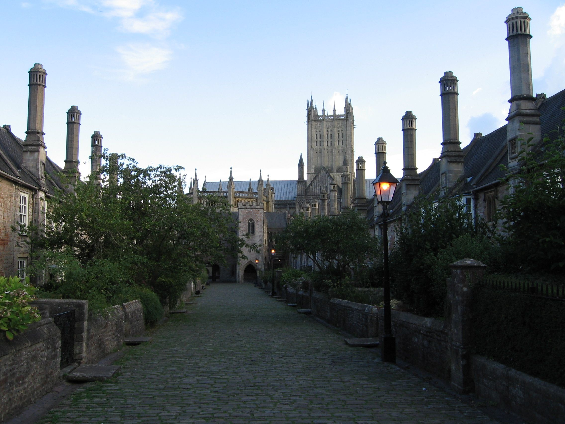 wells cathedral wells somerset front world architecture